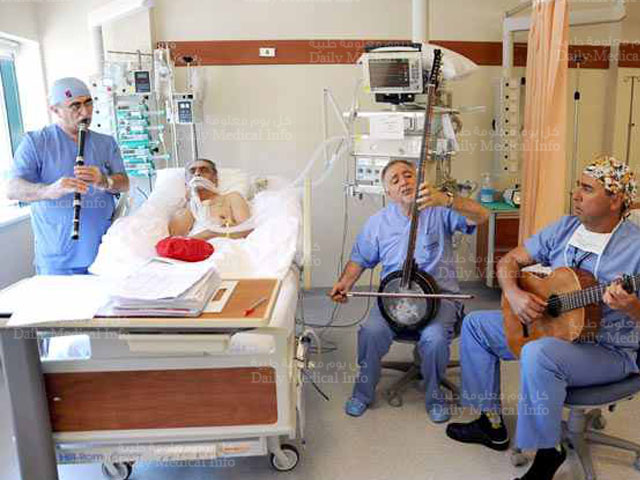 Music in an Istambul hospital